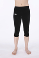Legging 3/4 velours marine