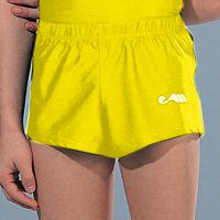 Heren short Geel